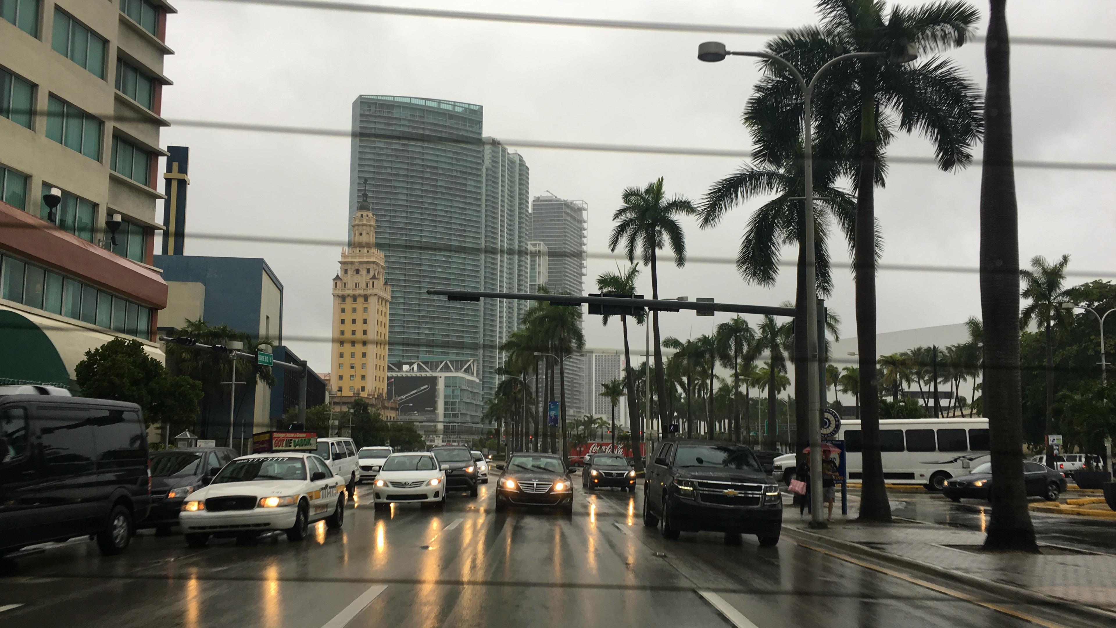 A Rainy Day in Miami