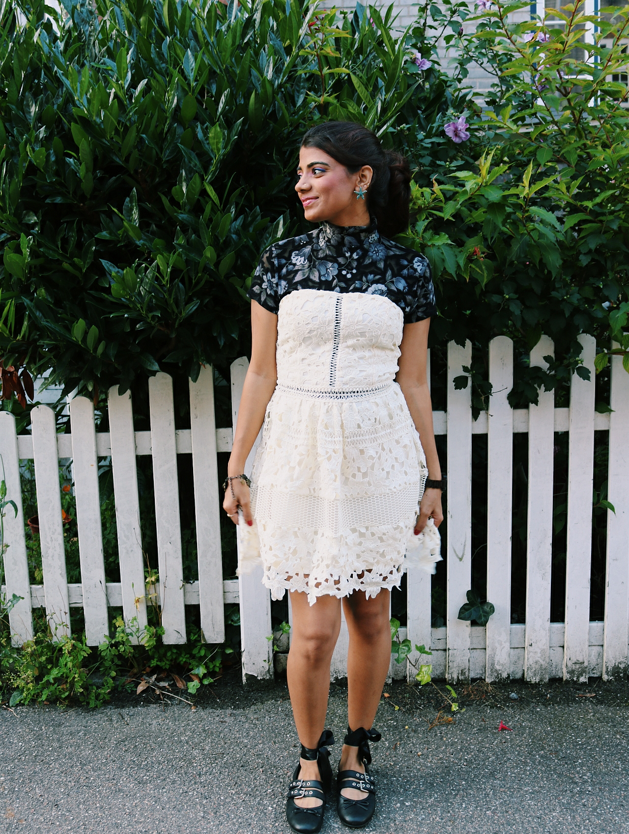 Turtleneck Lace Dress!